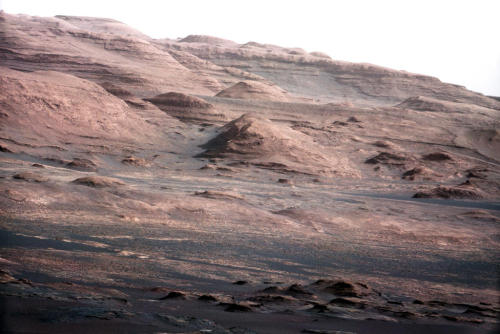 "ikenbot:  Mars Rover Sends Amazing Photos, 1st Human Voice from Red Planet  NASA's Mars rover Curiosity has beamed home the first human voice ever sent from another planet, as well as some spectacular new images of its Martian environs.  The 1-ton Curiosity rover broadcast a greeting from NASA administrator Charlie Bolden, who congratulated the mission team for getting the huge robot to Mars safely. While the significance of the audio accomplishment is largely symbolic, NASA officials hope it presages a more substantial human presence on the Red Planet down the road.  ""With this, we have another small step that's being taken in extending the human presence beyond Earth, and actually bringing that experience of exploring the planets back a little closer to all of us,"" said Curiosity program executive Dave Lavery, invoking the famous line late astronaut Neil Armstrong uttered from the surface of the moon on July 20, 1969."
