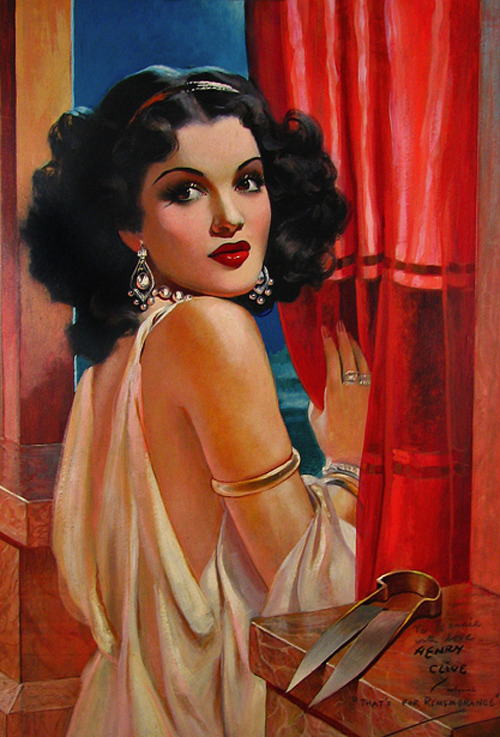 Enchantresses Of The Ages (Delilah) by Henry Clive, 1948