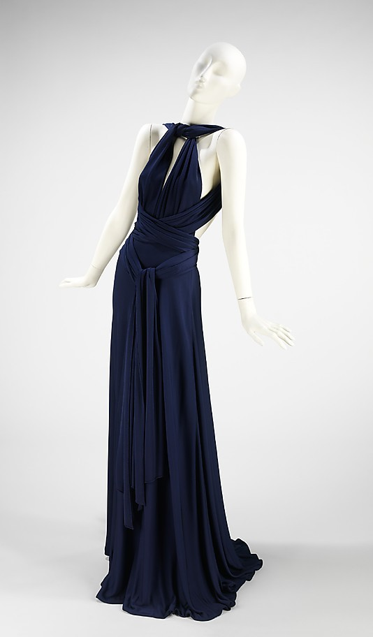 omgthatdress:  Dress Halston, 1972 The Metropolitan Museum of Art