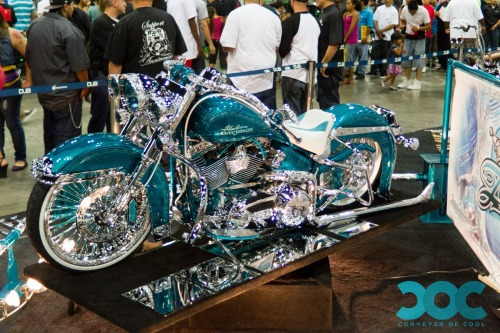 Cool Whip: Harley Davidson Custom | LA Dub Car Show