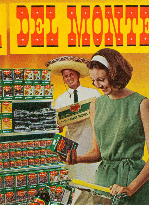 mudwerks:  Del Monte Raisin and Prune Fiesta, 1964 (by MewDeep)