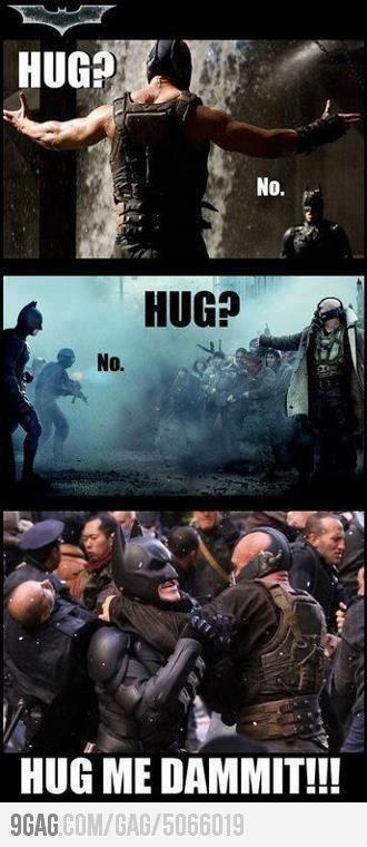 9GAG - Misunderstood Douchebag Bane on We Heart It. http://weheartit.com/entry/35092406