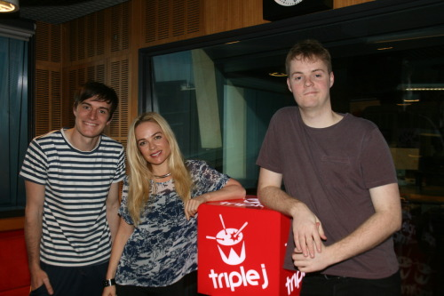 Thanks for stopping by Imogen Bailey and chilling with Tom and Alex NOW GO BACK TO WHERE YOU CAME FROM ;)