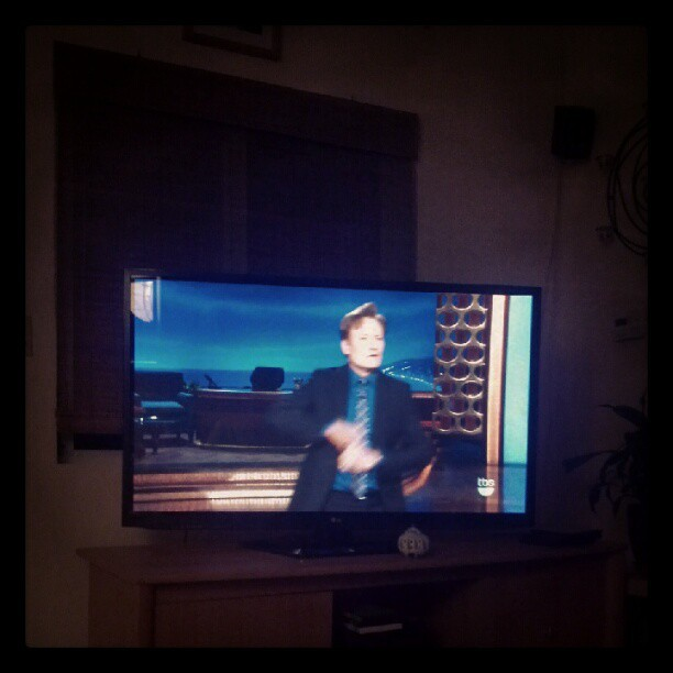 Conan's the best:) #conan #conanobrien #tbs #ginger #talkshow #ifuckinglovehim  (Taken with Instagram)