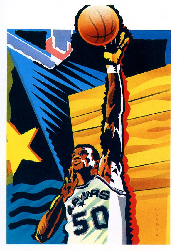 """The Admiral"" - David Robinson. (via: fatshawnkemp)"