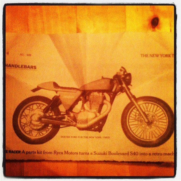 cafe racer.   (Taken with Instagram)