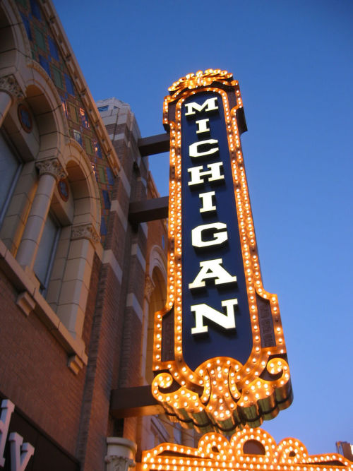 Michigan Theatre by ifmuth on flickr