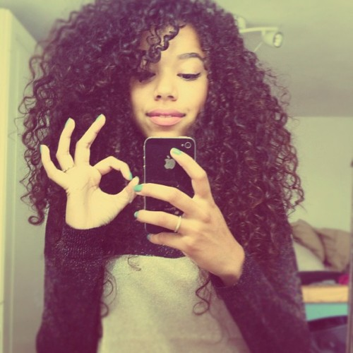 view more beauties with curly hair→