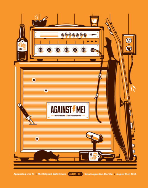 inspiredmark:  Poster: Against Me!