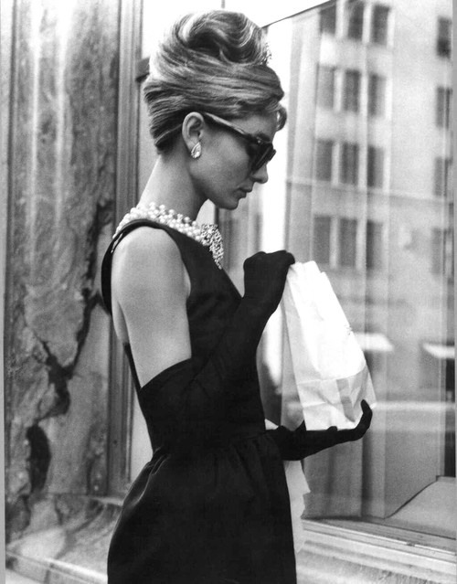 Audrey Hepburn in 'Breakfast at Tiffany's', 1961.