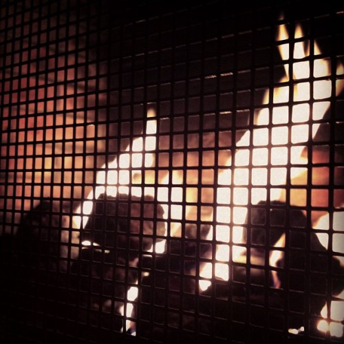 Hot like fire.  (Taken with Instagram)
