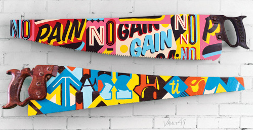 Typeverything.com (Sub)Prime-cuts. Typographic saws by Vault49. (via Ben the Illustrator)