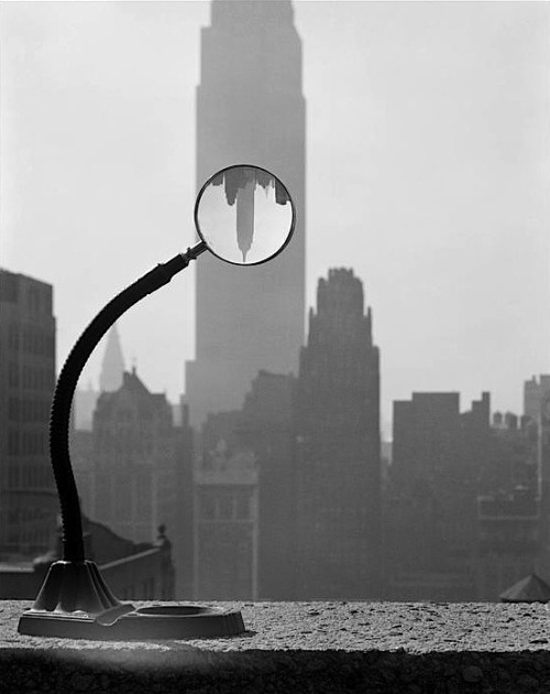 Erich Hartmann Empire State Building, New York City, USA, 1949 From Magnum Photos