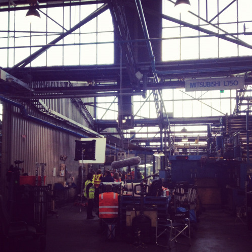 The Paper Giants 2 crew were filming onsite today at @PMPLimited (our parent company) Clayton… Very cool!