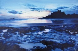 Bamburgh Castle - Oil on Canvas - 40 x 60cm - 2012