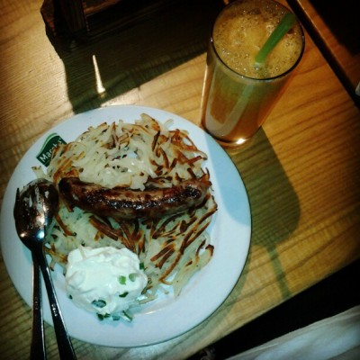 Rosti x) nice!give me more!(≥3≤) (Taken with Instagram at Underground Marche)