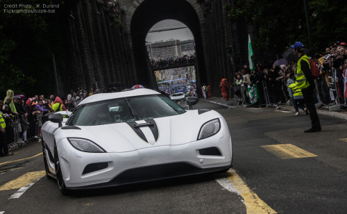 White Splash  Starring: Koenigsegg Agera (by Mathieu Durand)