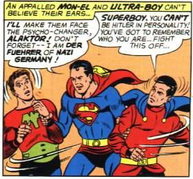 So apparently Superman is Hitler. In hindsight his superhero name, Superman, was most likely a dead giveaway. Via superdickery.com