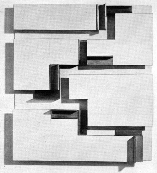 ANTHONY HILL CONSTRUCTIVIST RELIEF, VINYL AND ALUMINUM, 1960