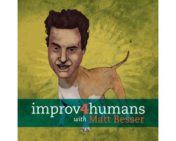 Matt Besser & Co. improvised a scene based off my video suggestion. No big deal… earwolf:  improv4humans Bonus Cut: Show Me Your Business Card  Joe Wengert, Danielle Schneider, and Mike Still have some unfinished business cards to attend to. So make yourself some garlic nachos and enjoy this week's bonus episode of improv4humans!