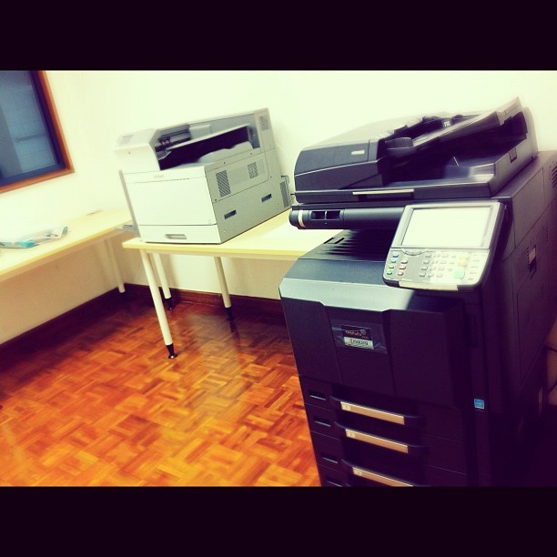 Percetakan galore | #work #office #automation #printer #photocopy #lexmark #kyocera (Taken with Instagram at Brunei Polytechnic)