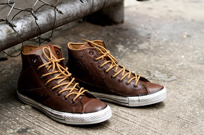 Converse Motorcycle Jacket Hi - Wheat Shoes - Kith NYC | Anchor Division