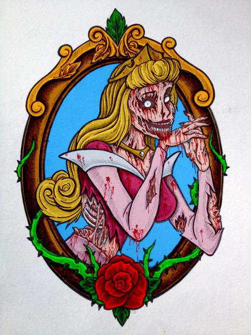zombie princess on Tum...