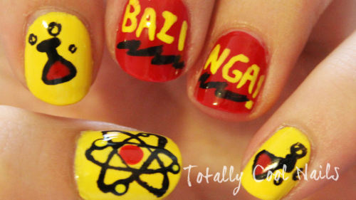 The Big Bang Theory Nails