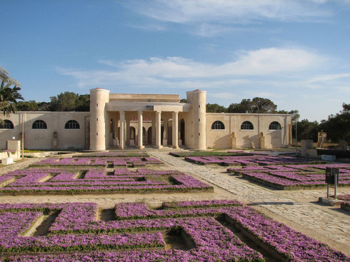 Museum garden by Cee on Flickr.Sabratha, Libya