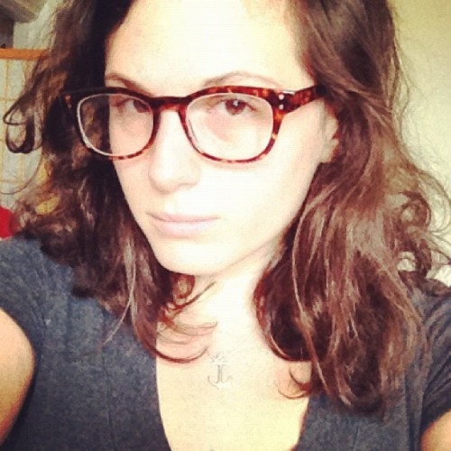 lovelyjenny:  New glasses (Taken with Instagram)  You look like a teacher. Oh wait, you are! :)