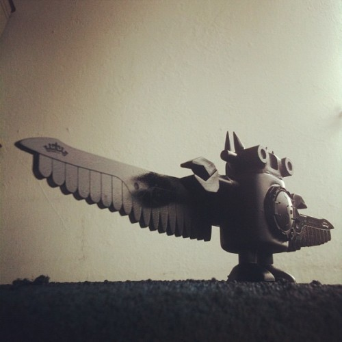 Fly away @giantrobot Fly away! #xs #wip  (Taken with Instagram)
