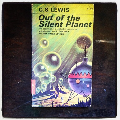 Out of the Silent Planet by C.S. Lewis, 1965 (Taken with Instagram)