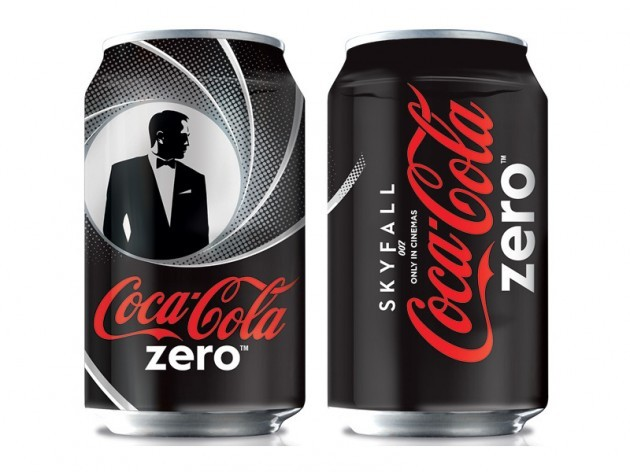 COCA-COLA ZERO LIMITED EDITIONS FOR JAMES BOND – SKYFALL