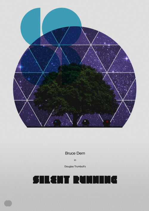 Silent Running alternative movie poster designed by Paul Johnstone Creative Output