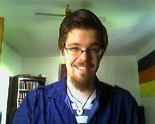 I can always tell I need a haircut when my hair starts auto-pompadouring. Good morning, everyone.