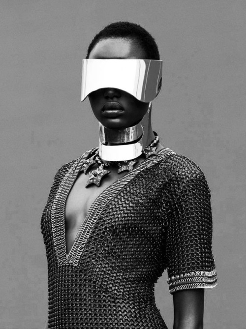 gryulich:  Ajak Deng for Obsession Magazine by Julia Noni