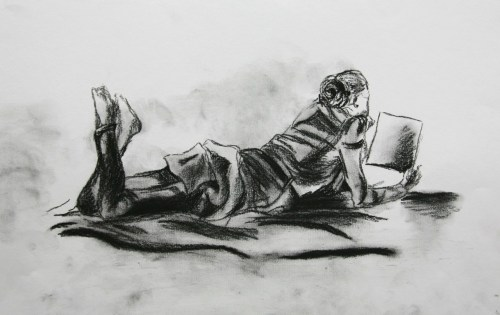 Life Drawing Class By N.Barker