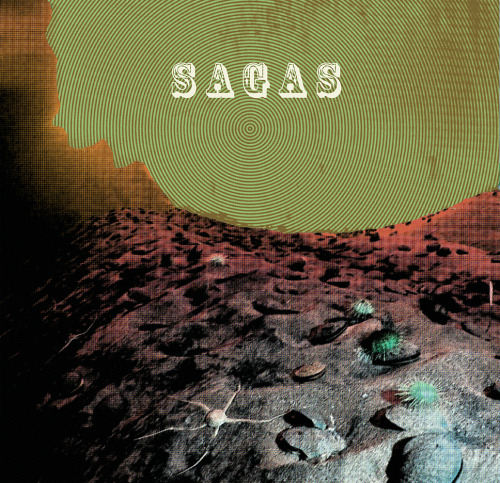 "Sagas - ""Between Worlds"" (Front Cover)"