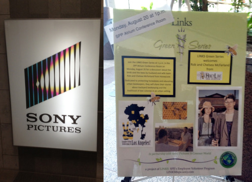 Photo: HoneyLove outreach @ Sony Pictures