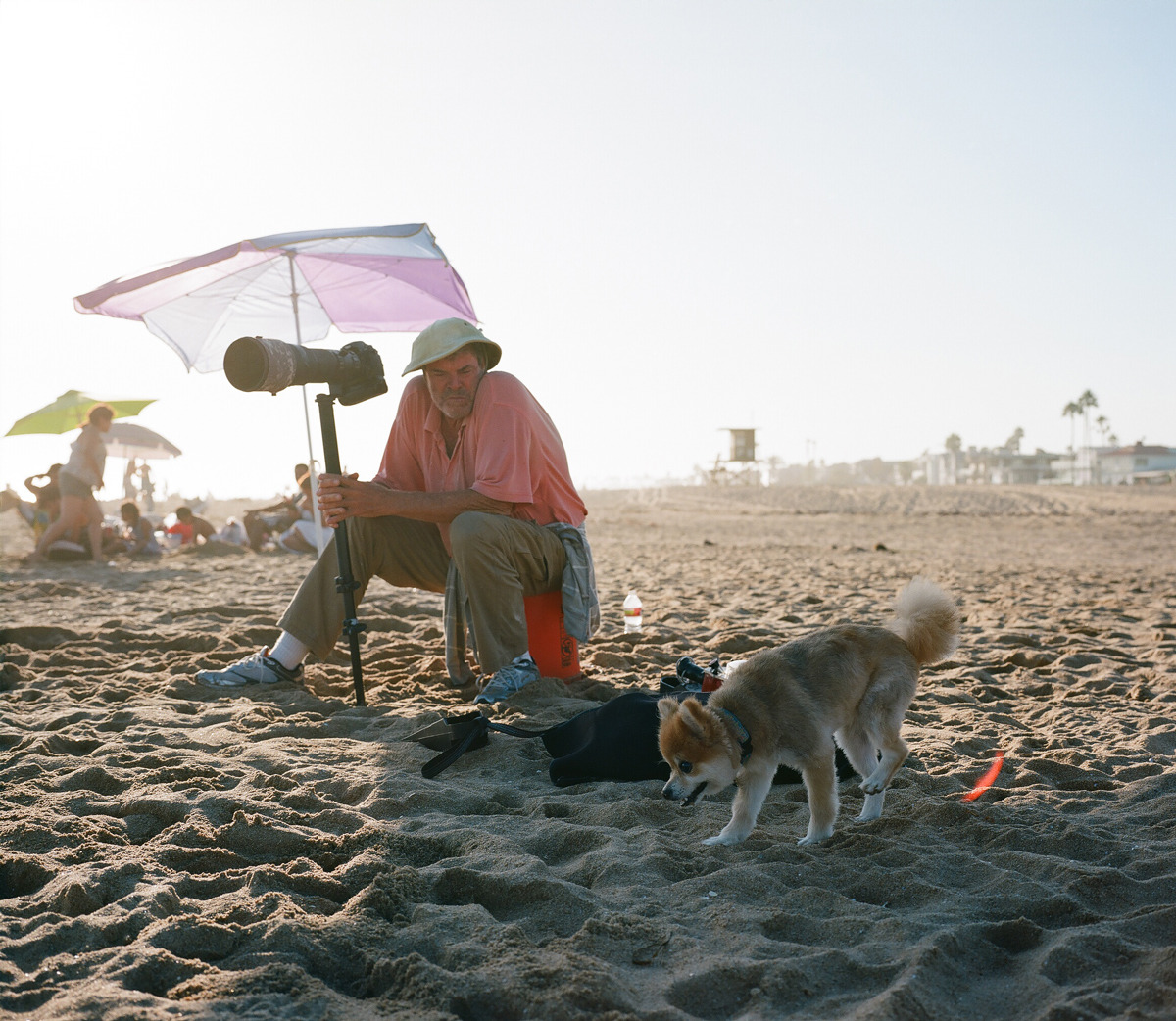 Dude & Dog.   Photo by Evan Tetreault.