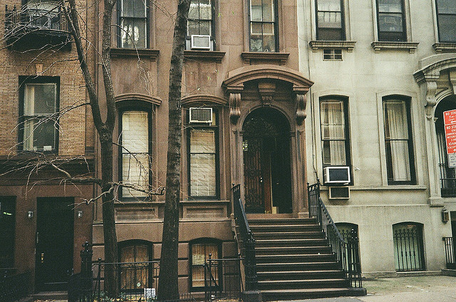 24submarines:  Brownstone, E. 37th St.  by MurrayHillFan on Flickr.