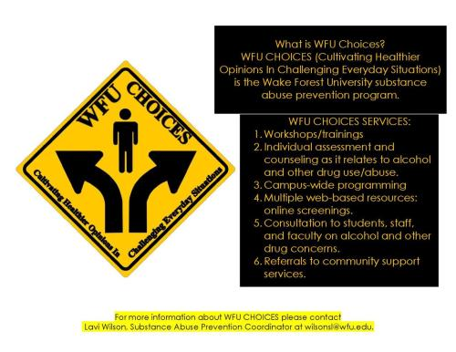 What is WFU Choices?