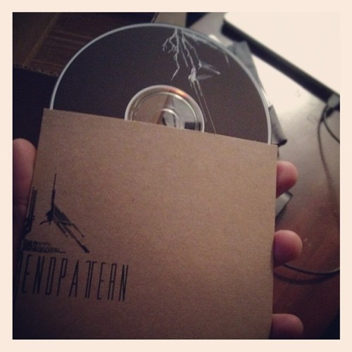 Demo discs are available on our website or at shows.  (Taken with Instagram)