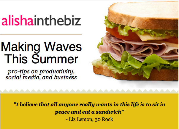 Making Waves This Summer August's newsletter is now out!