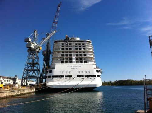 FOTO; Royal Princess in cantiere