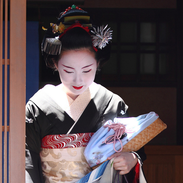 Maiko Kyoka-san from Gionkobu in Kyoto (by milestone505) Kyoto, Japan