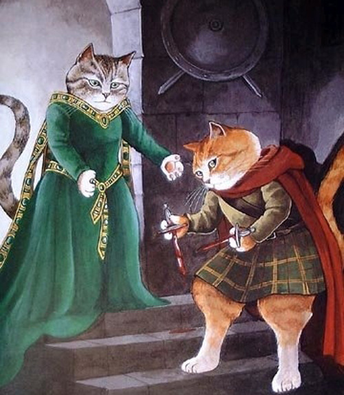 flavorpill:  Shakespeare cats