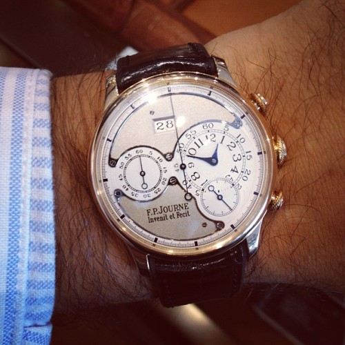 Journe Octa Chronograph is #womw (Taken with Instagram)