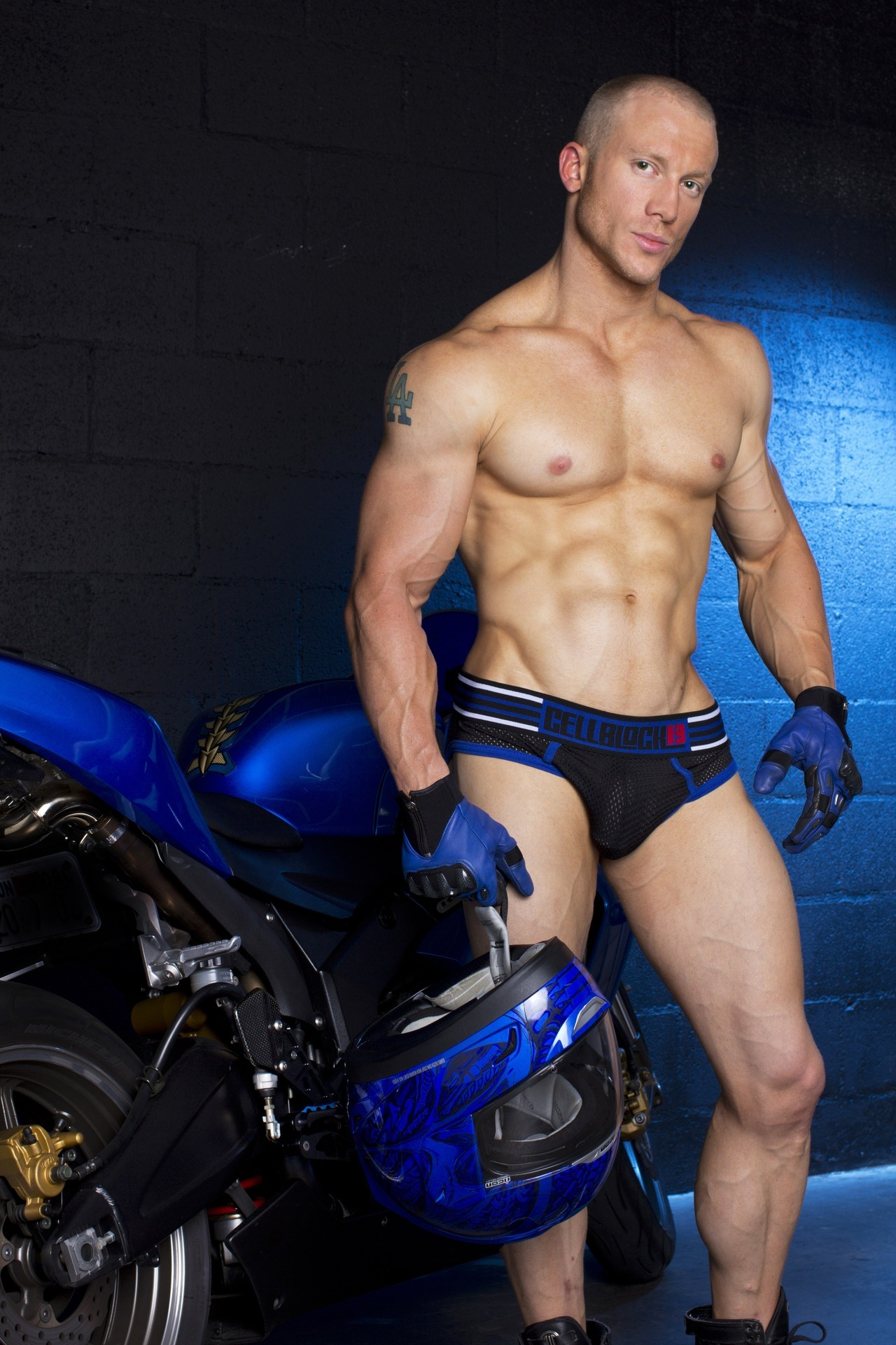Kevin for @CellBlock13LA  Photo by Timoteo