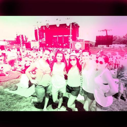 Pink loves summer concerts! (Taken with PINK Nation)      I added this cool filter on the PINK Nation app. Download it now to PINK your pics!
